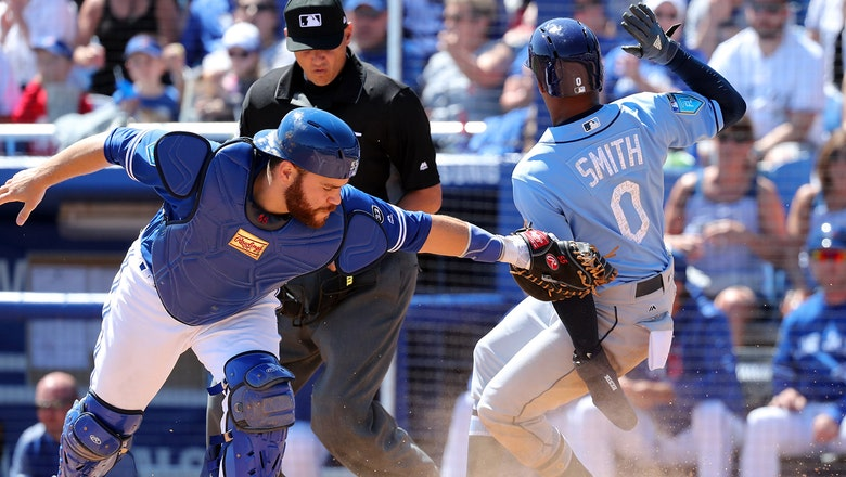 C.J. Cron homers again, Rays take care of Blue Jays