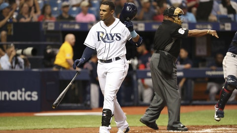 Opening Day: Rays erase four-run deficit, dump Sox