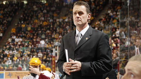 Gophers' Lucia Steps Down as Men's Hockey Coach
