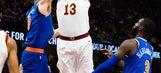 Cavs' Thompson to miss several games with sprained ankle