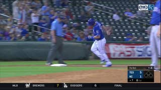 WATCH: Frank Schwindel hits a loud solo homer