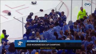 Westminster Wildcats win the 2018 Wickenheiser Cup
