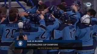 SLUH beats De Smet 4-0 for Challenge Cup win