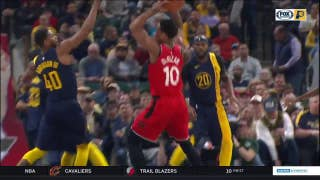 WATCH: Pacers start strong but come up short against Raptors
