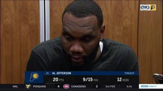 Big Al says Pacers' loss to Raptors is a teaching moment