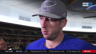 Allen on frustrating Blues loss: 'It's a tough way to go'