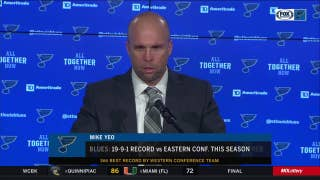 Mike Yeo: 'There were some ups and downs' in Blues' win over Rangers