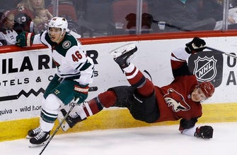 Coyotes end Wild's 5-game winning streak with 5-3 victory (Mar 01, 2018)