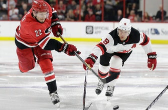 Hurricanes beat Devils 3-1 despite another goal for Hall