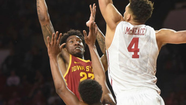 Young's 15 lead Oklahoma past Iowa State 81-60