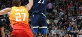 Jazz beat Timberwolves 116-108 in game featuring 3 ejections