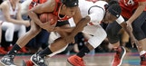 No. 4 Louisville tops No. 23 NC State 64-59 in ACC semis