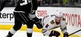 Blackhawks rally to beat Kings 5-3, snap road losing streak