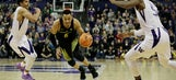 Pritchard, White help Oregon hold off Washington 72-64