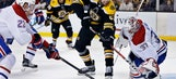 Marchand scores in OT, Bruins rally past Canadiens 2-1