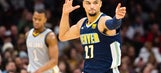 Long distance: Nuggets make 19 3s, roll past LeBron, Cavs