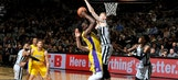 Ball, Randle rally Lakers past Spurs late, 116-112
