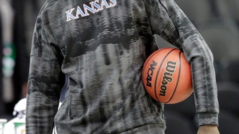 Azubuike Out for Big 12 Tournament with Knee Injury