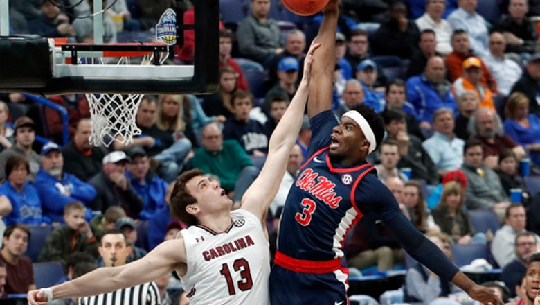 Silva's double-double helps South Carolina hold off Ole Miss