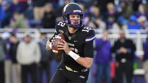 "<p>(STATS) - Any team that has a quarterback competition in the spring usually finds it be the overwhelming storyline. It gets multiplied at a program like James Madison.</p><p>""Everybody's going to be looking at the quarterback competition,"" third-year coach Mike Houston said. ""Right now, who knows? But the one thing you do know is if you have three quality players competing for the job, whoever wins the job is going to be a quality player.""</p><p>The Dukes are replacing Bryan Schor, who helped them to the best two-year stretch in program history - a 28-2 record with two perfect seasons in CAA Football, a 2016 FCS title and a national runner-up finish last season.</p><p>The three chief candidates to replace Schor are Cole Johnson, Gage Maloney and Pittsburgh transfer Ben DiNucci.</p><p>Schor and his predecessor, Vad Lee, were dual threats, but this year's starting quarterback doesn't necessarily have to run the ball as much because the Dukes' backfield is deep in tailbacks.</p><p>Johnson, who will be a junior, was the No. 2 quarterback last season. His redshirt was burned late in his freshman season in 2016 to make a start at Villanova when Schor was sidelined. As a sophomore, Johnson completed 14 of 24 passes for 141 yards and a touchdown with one interception.</p><p>""This is a guy that can make every throw. He has a very strong arm, a very quick release,"" Houston said. ""He's 6-4, 6-5, he's tall. He can see the field and he can make every throw. And he's a very, very intelligent football player. He's the guy with the most experience in our system.""</p><p>Maloney, who stands 6-2, 219 pounds, was redshirted last season. He was the 2016 South Carolina Mr. Football award winner.</p><p>""Gage Moloney has all the tools,"" Houston said. ""He's a big kid with a big arm and he can run. He's going to be a great player. He's green as he can be - he's a redshirt freshman, so he's young, but he's got all the tools. He's a competitor. I think he'll go after it with everything he's got.""</p><p>DiNucci has two seasons of eligibility remaining. Last year, the 6-2, 220-pounder made six starts for Pitt, going 88 of 158 for 1,091 yards with five touchdowns and five interceptions in 10 games. He was the 2014 Pennsylvania Gatorade Player of Year as a high school senior.</p><p>""He chose to come here and walk on,"" Houston said, ""which I think's about the only way you can come in here as a quarterback in this situation with Cole and Gage coming back and really earn the respect of the team. He's come in here, he's kept his mouth shut and he's worked his tail off. It will be interesting to see how he competes, but certainly he's been very impressive so far just from a conduct and work ethic standpoint.""</p><p>James Madison begins spring practices on Tuesday. Houston and offensive coordinator Donnie Kirkpatrick are both anxious to get a closer look at the quarterbacks.</p>"