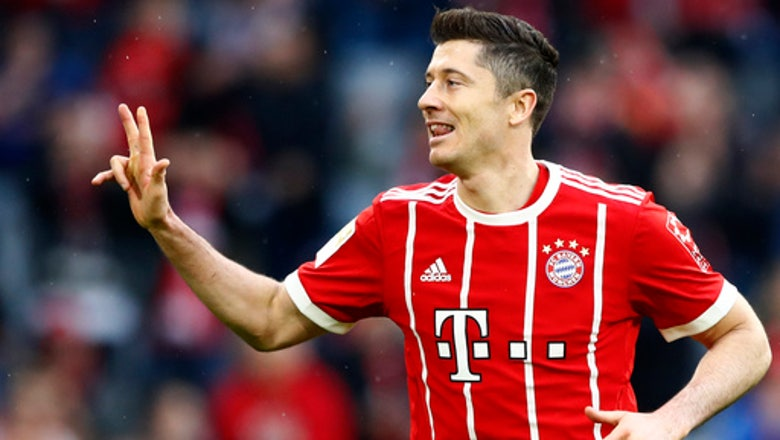 Bayern closer to another title with 6-0 rout of Hamburg