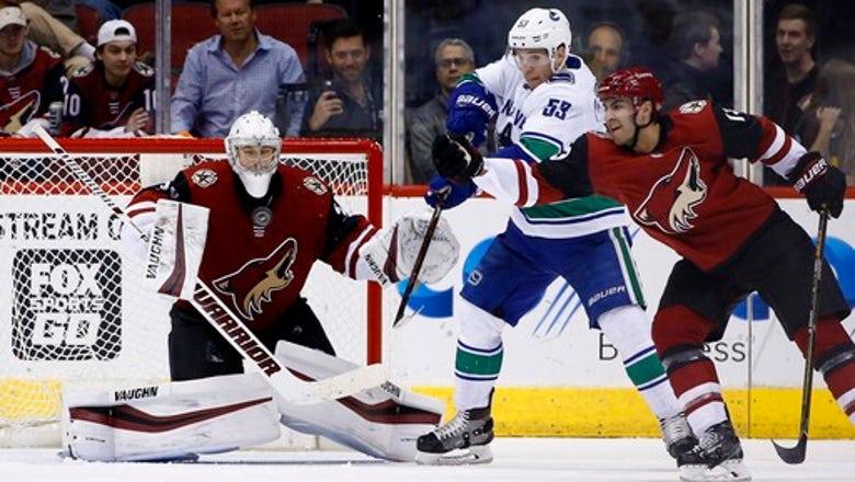 Ekman-Larsson, Kuemper lead Coyotes past Canucks, 1-0