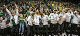 Ducks stay west, mid-majors get two at-large bids.