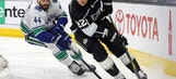Kings back in playoff position with 3-0 win over Canucks