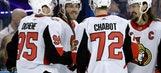 Hoffman scores twice, Senators win 7-4 to stop Lightning run