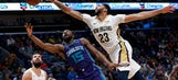 Davis leads Pelicans past Hornets, 119-115
