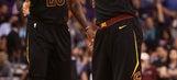 James' triple-double leads Cavaliers past lowly Suns