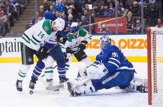 Marner gets winner in SO, Maple Leafs beat Stars 6-5