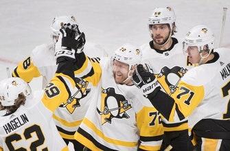Hornqvist scores 2 as Penguins beat Canadiens, 5-3