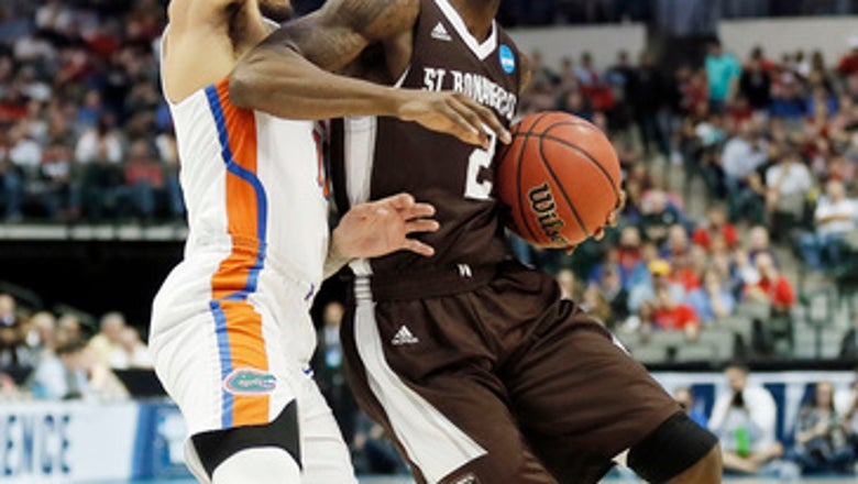Florida bounces Bonnies after their 1st NCAA win in 48 years