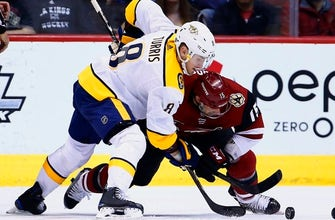 Fiala, Turris rally Predators to 3-2 win over Coyotes