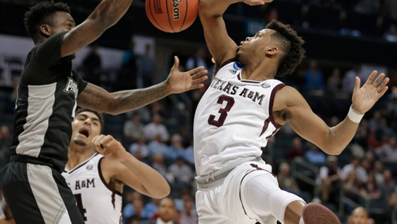 Texas A&M holds off Providence 73-69 in NCAA West 1st round