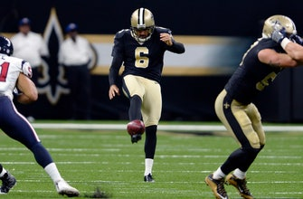 Saints punter Morstead signs new 5-year contract