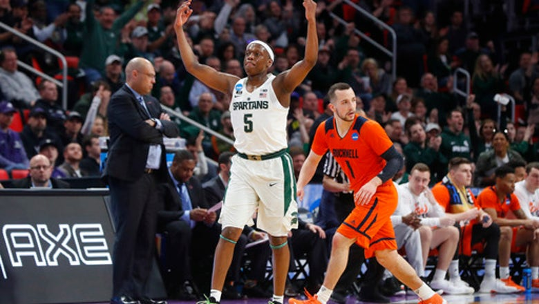 Michigan State's Winston aims for singles against Syracuse