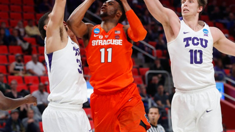 Syracuse tops TCU 57-52 to advance again in NCAA Tournament