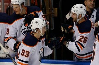 McDavid has 1 goal, 2 assists in Oilers' 4-2 victory
