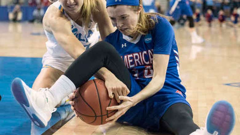 Billings helps UCLA beat American 71-60