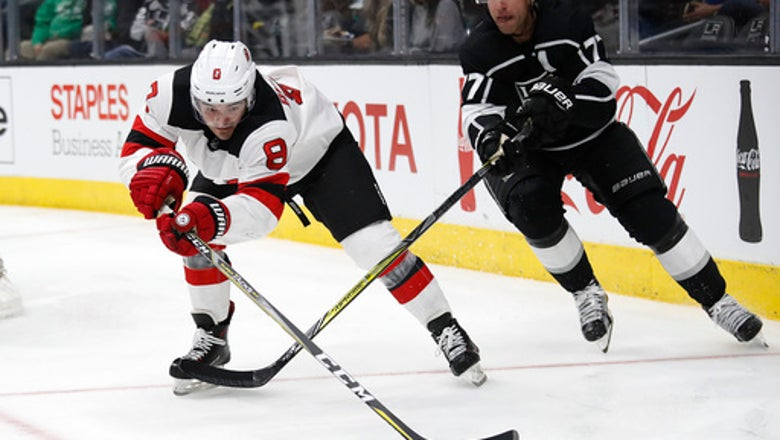 Kinkaid stops 38 shots as Devils beat Kings 3-0