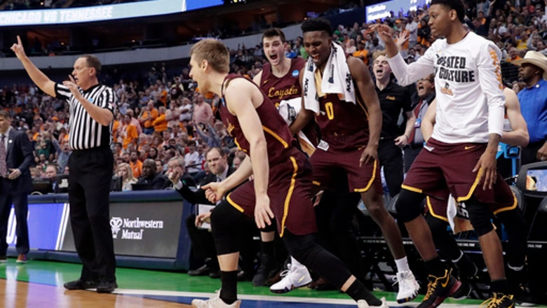 Loyola of Chicago tops Tennessee to advance to Sweet 16