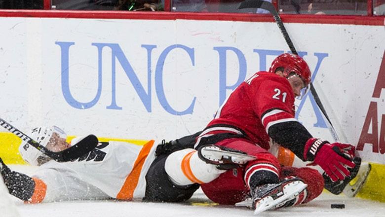 Filppula scores go-ahead goal, Flyers beat Hurricanes 4-2