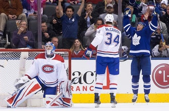 Maple Leafs blank Canadiens for 12th straight home win