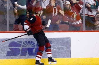 Dubnyk, Foligno lead Wild over Coyotes