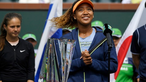 Osaka draws Serena in first round By