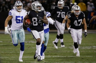 AP source: Raiders trade returner Patterson to Patriots