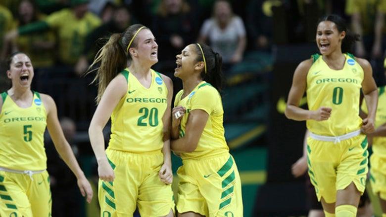 No. 2 seed Oregon advances with 101-73 win over Minnesota