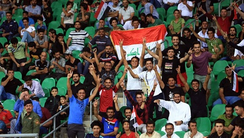 Iraq hosts friendly tournament after 3-decade FIFA ban